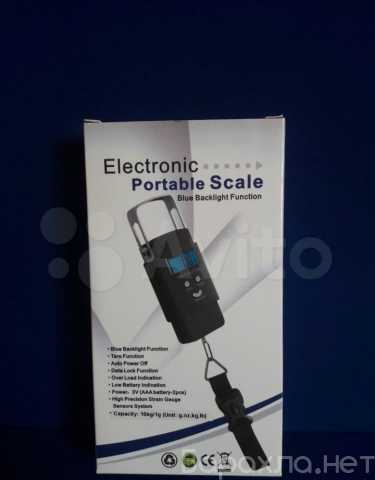 Продам: Эл.весы Electronic Portable Scalewh-A08 (NeW)